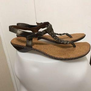 Boc (Born Concept) Brown Sandals Size 10.5/Eu 40.5